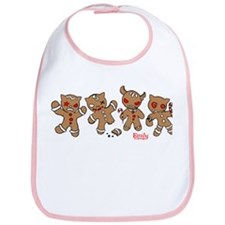 Gingerbread Men Bib