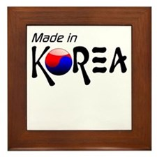 Made in Korea Framed Tile