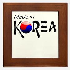 Made in Korea Framed Tile