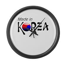Made in Korea Large Wall Clock