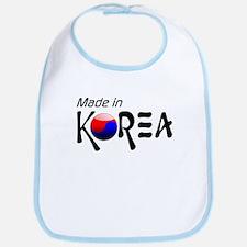 Made in Korea Bib