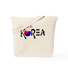 Made in Korea Tote Bag