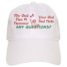 My God has a Hammer Baseball Cap