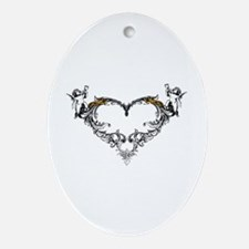 love Ornament (Oval)