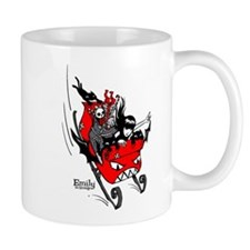 Emily the Sleigher Small Mug
