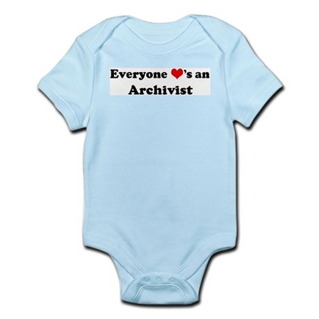 Loves a Archivist Infant Creeper