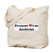 Loves a Archivist Tote Bag