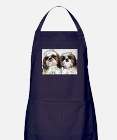 Unique Shih tzu Apron (dark)