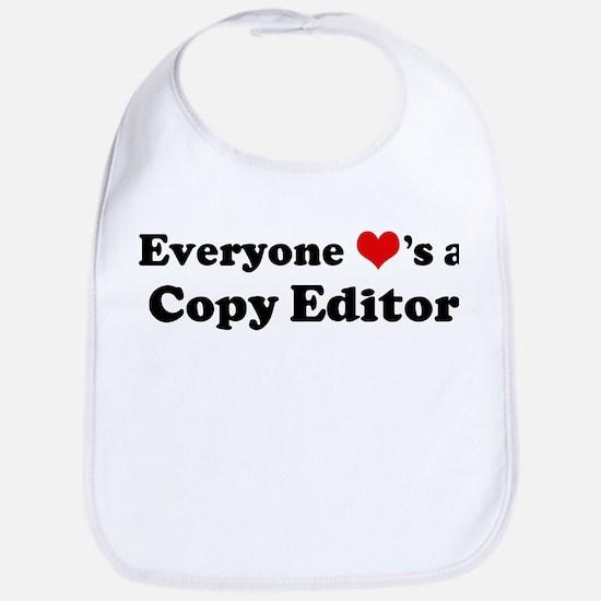 Loves a Copy Editor Bib