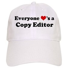 Loves a Copy Editor Baseball Cap