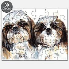 Unique Watercolor Puzzle