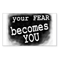 Your Fear Becomes You Bike Decal