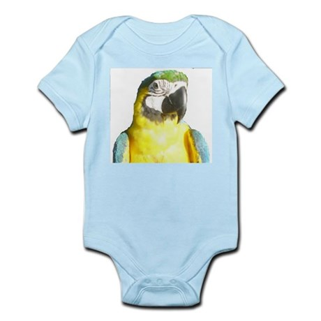 Macaw-Blue and Gold Infant Bodysuit