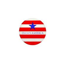 Occupy AMERICA Mini Button (100 pack)