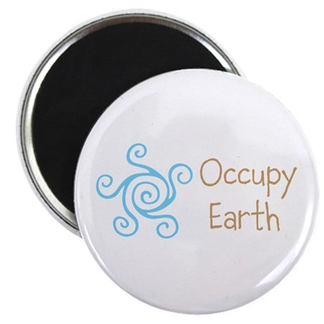 "Occupy Earth 2.25"" Magnet (100 pack)"