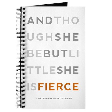 She is Fierce - Block Journal
