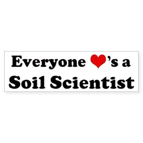 Loves a Soil Scientist Bumper Sticker