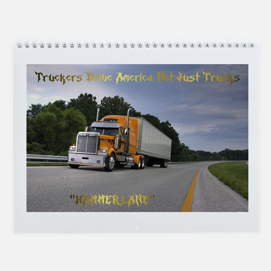Unique Western star Wall Calendar