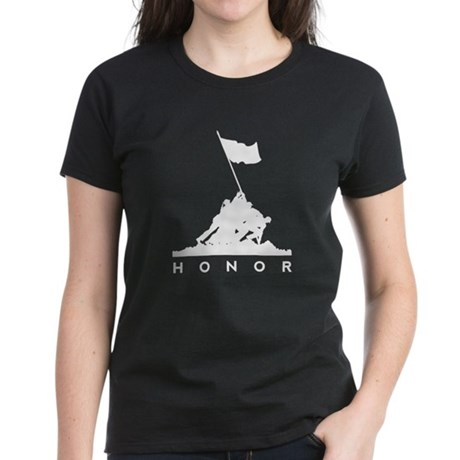 Land of the Free - Honor Women's Dark T-Shirt
