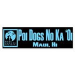 Poi Dog BLUE Sticker (Bumper)