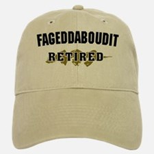 Funny New York Retirement Baseball Baseball Cap