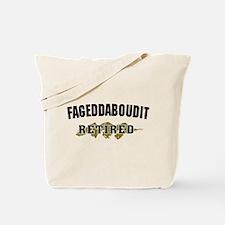 Funny New York Retirement Tote Bag