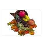 Cornucopia Abundent Fruit Postcards (Package of 8)
