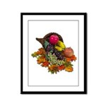Cornucopia Abundent Fruit Framed Panel Print