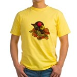 Cornucopia Abundent Fruit Yellow T-Shirt