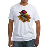 Cornucopia Abundent Fruit Fitted T-Shirt