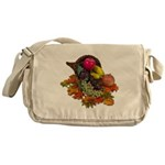 Cornucopia Abundent Fruit Messenger Bag