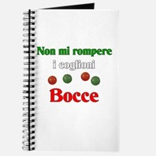 Don't Bust My Balls. Bocce Journal