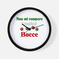 Don't Bust My Balls. Bocce Wall Clock
