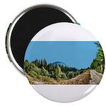 Dirt Road Mountain Path Magnet