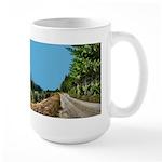 Dirt Road Mountain Path Large Mug