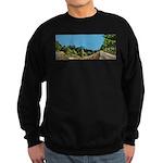 Dirt Road Mountain Path Sweatshirt (dark)
