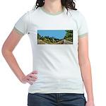 Dirt Road Mountain Path Jr. Ringer T-Shirt