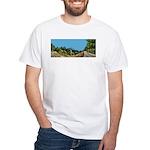 Dirt Road Mountain Path White T-Shirt