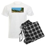 Dirt Road Mountain Path Men's Light Pajamas