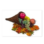 Fall Cornucopia Postcards (Package of 8)