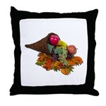 Fall Cornucopia Throw Pillow