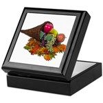 Fall Cornucopia Keepsake Box