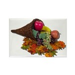 Fall Cornucopia Rectangle Magnet (100 pack)