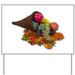 Fall Cornucopia Yard Sign
