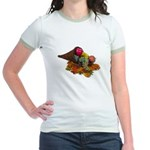 Fall Cornucopia Jr. Ringer T-Shirt