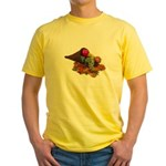 Fall Cornucopia Yellow T-Shirt