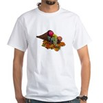 Fall Cornucopia White T-Shirt