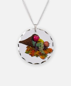 Fall Cornucopia Necklace