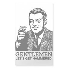 Gentlemen Bumper Stickers