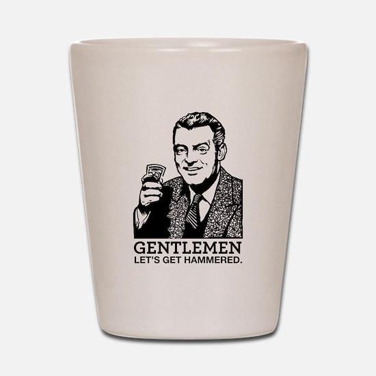 Gentlemen Shot Glass